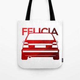 Skoda Felicia - classic red - Tote Bag