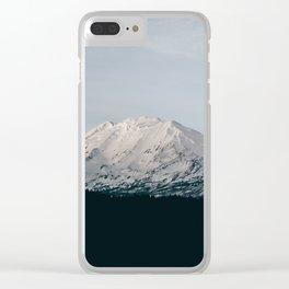 Mount Adams III Clear iPhone Case