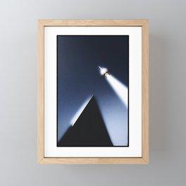 Alien abduction at Alexanderplatz Framed Mini Art Print