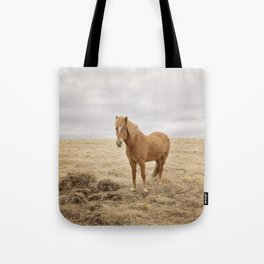 Solitary Horse in Color Tote Bag