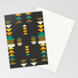 Bright shapes in the dark Stationery Cards