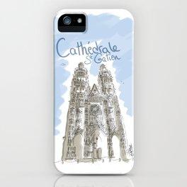Cathédrale de Tours iPhone Case