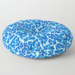 Forget-me-not Flowers White Background #decor #society6 #buyart Floor Pillow