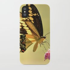 Giant Swallowtail iPhone X Slim Case