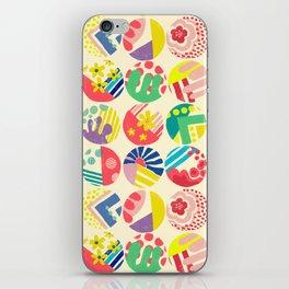 Abstract circle fun pattern iPhone Skin