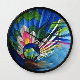 Blowing Away Wall Clock