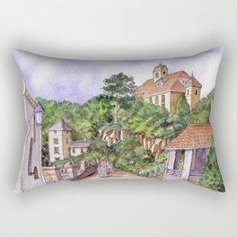 Port Meirion Rectangular Pillow