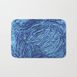 Blue Tornado Bath Mat