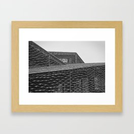 Roofs of Kengo Kuma 3 Framed Art Print