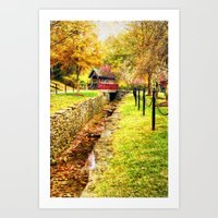 whisky Art Prints featuring Whisky Creek by ThePhotoGuyDarren