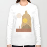 movie posters Long Sleeve T-shirts featuring A New Hope Movie Poster by Ed Burczyk