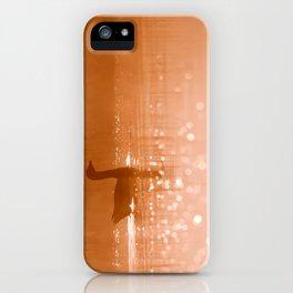 Early Morning Magic .:. Greylag Goose at sunrise iPhone Case