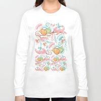 patterns Long Sleeve T-shirts featuring Patterns by famenxt