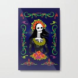 Novia De Los Muertos Metal Print