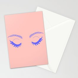 Betty Gone Batty (Millennial Pink Edition) Stationery Cards