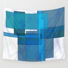Squares combined no. 1 Wall Tapestry
