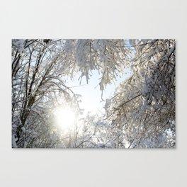 Return of the Sun Canvas Print