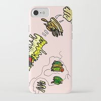 netflix iPhone & iPod Cases featuring Basquiat Netflix by alexSHARKE