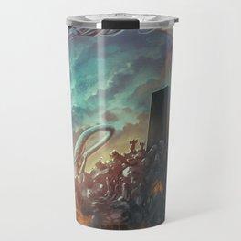Lovecraft Monolith - By Lunart Travel Mug