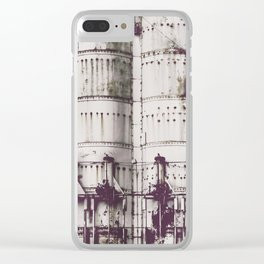 Ghosts of Industry Clear iPhone Case