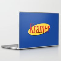 seinfeld Laptop & iPad Skins featuring Kramer  - Seinfeld by Uhm.