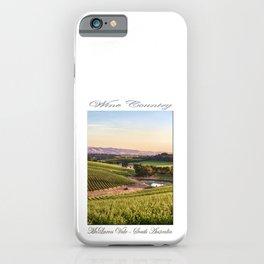 Wine County - McLaren Vale, South Australia iPhone Case