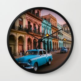 Colorful Havana Wall Clock