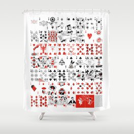 Delicious Deck Shower Curtain