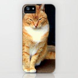 Straighten Up iPhone Case