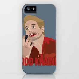 Todd Kraines v2 iPhone Case