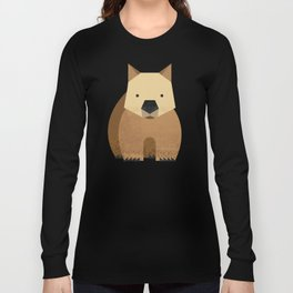 Whimsy Wombat Long Sleeve T-shirt