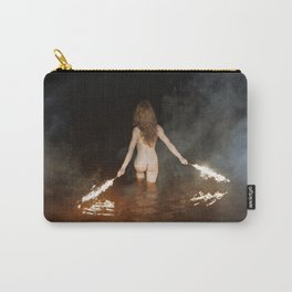 Fire Swim With Me Carry-All Pouch