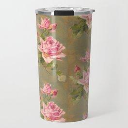 Roses n Rust Travel Mug