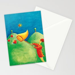 Catching Love Stationery Cards