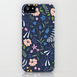 Midnight Garden iPhone Case
