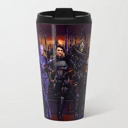 Mass Effect - Team of Awesomness Travel Mug