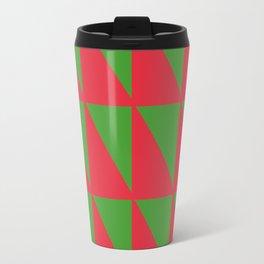 Holiday Geometry Travel Mug