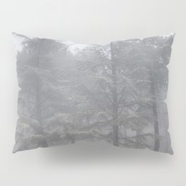 """""""Wander"""". Into the foggy woods Pillow Sham"""