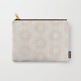 Minimalist Sunray Pattern XIV Carry-All Pouch
