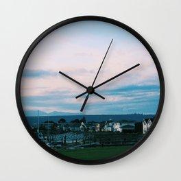 PNW Evening Wall Clock
