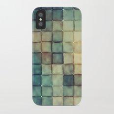 Polaroid Pixels III (Chain) iPhone X Slim Case