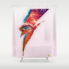 Glam Tear Shower Curtain