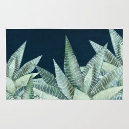 Succulent Garden (Snake Plant) Rug