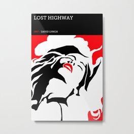 David Lynch Tribute Series :: Lost Highway Metal Print