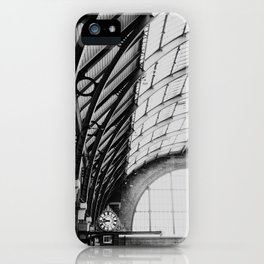Kings Cross Station, London iPhone Case