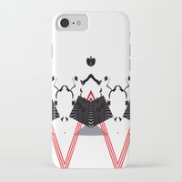 rorschach iPhone & iPod Cases featuring Rorschach by Isaak_Rodriguez