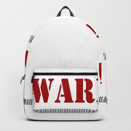 Warning: Reading This Backpack