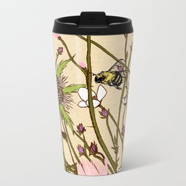 Wild Flowers Part 2 Metal Travel Mug
