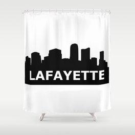 Lafayette Skyline Shower Curtain