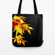Golden Acer Tote Bag